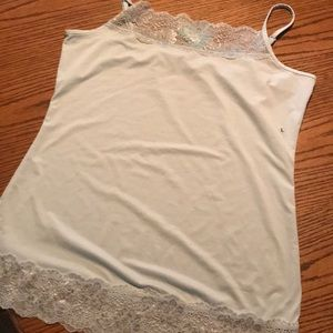 NWT Maurices lace tank large